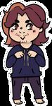 Arin Sticker! (Egoraptor/Game Grumps) by shibuh