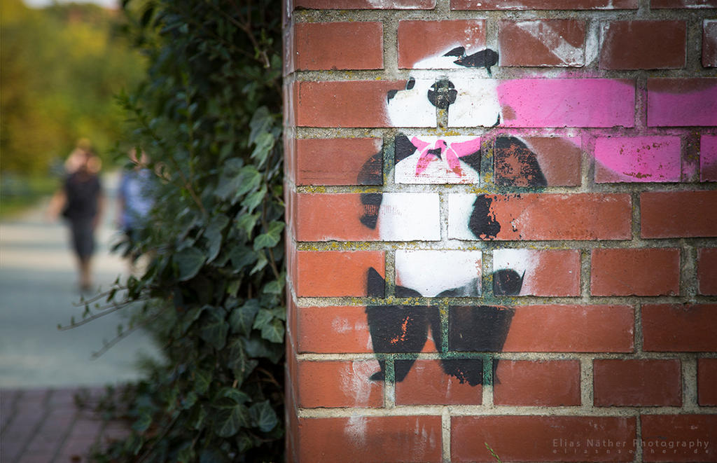 Panda by Scorpidilion