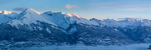 Good Morning Panorama by Scorpidilion