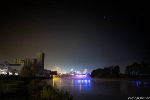 Riesa at Night