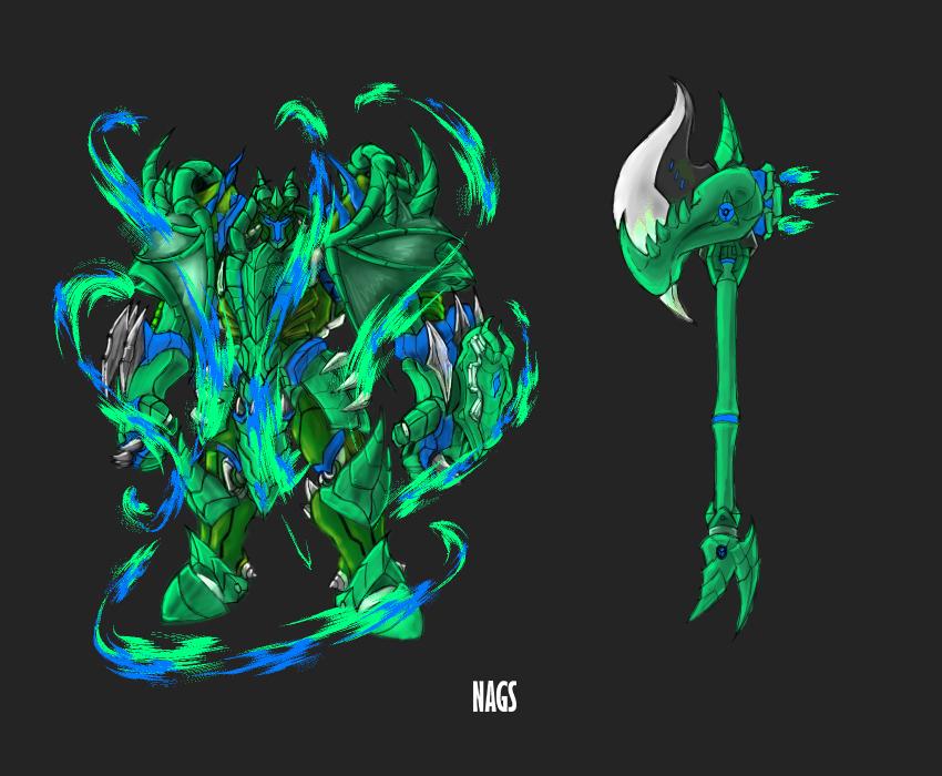 Dragon reinhardt 2 effect 3 by aopshjg