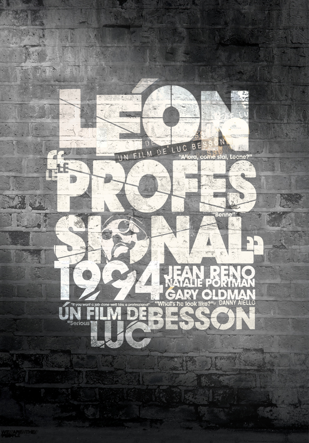 LEON by silocult I Love Typo #8: My Illicit Love for Typography and Text Art