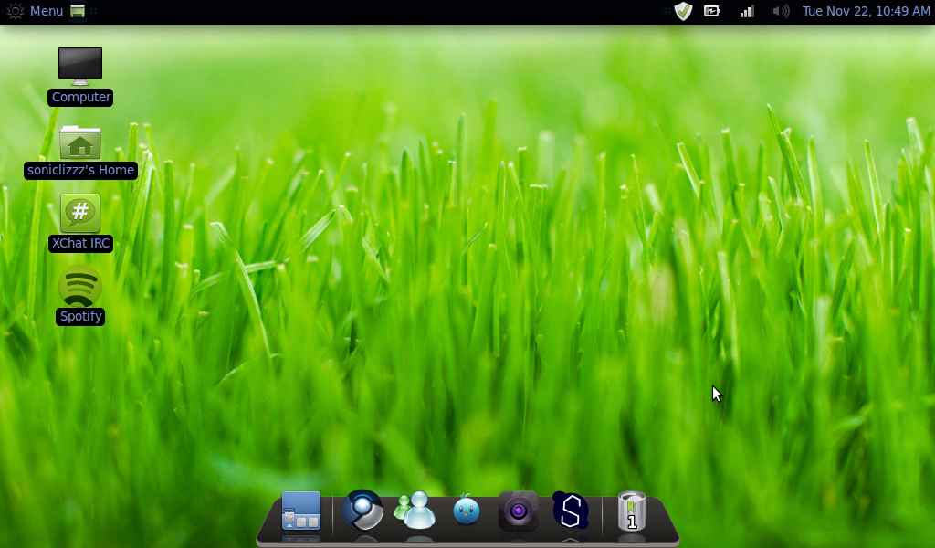 linux mint wallpaper change