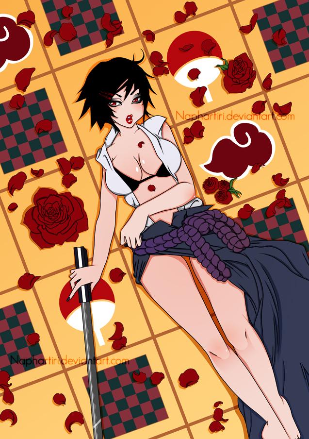 Sexy No Jutsu : UCHIHA SASUKE by Naphartiri