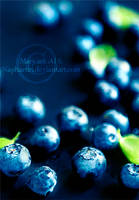 Blueberries by Naphartiri