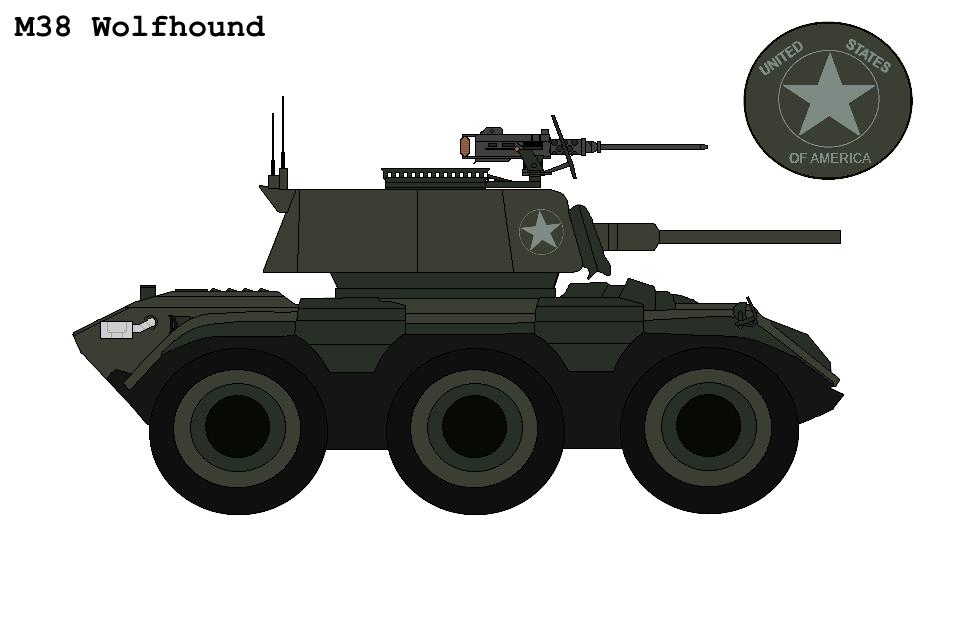 P.R M38 ''Wolfhound'' Armoured Car By Buckshot488 On