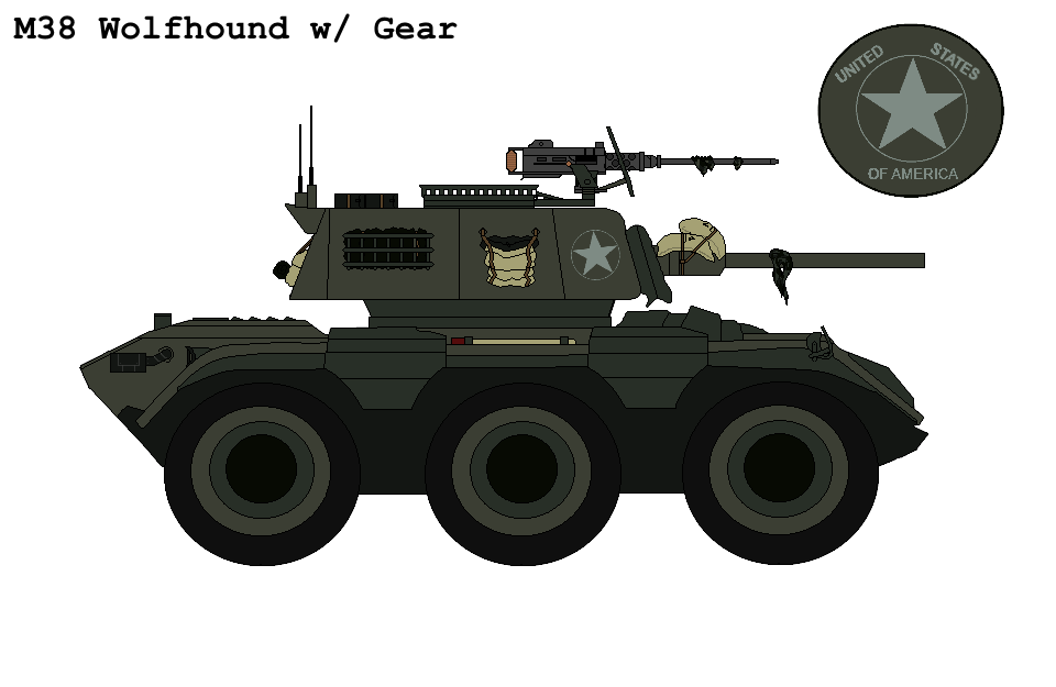 P.R M38 ''Wolfhound'' Armoured Car With Gear By
