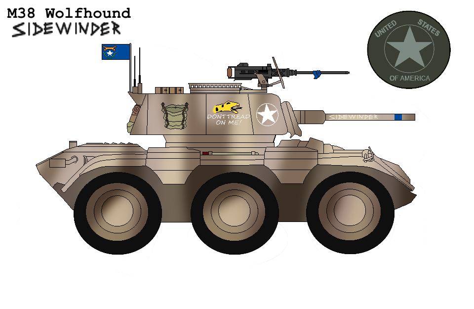 P.R M38 Wolfhound Armoured Car ''Sidewinder'' By