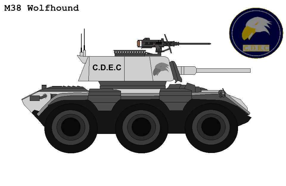 C.D.E.C ''Wolfhound'' Armoured Car T38 By Buckshot488 On