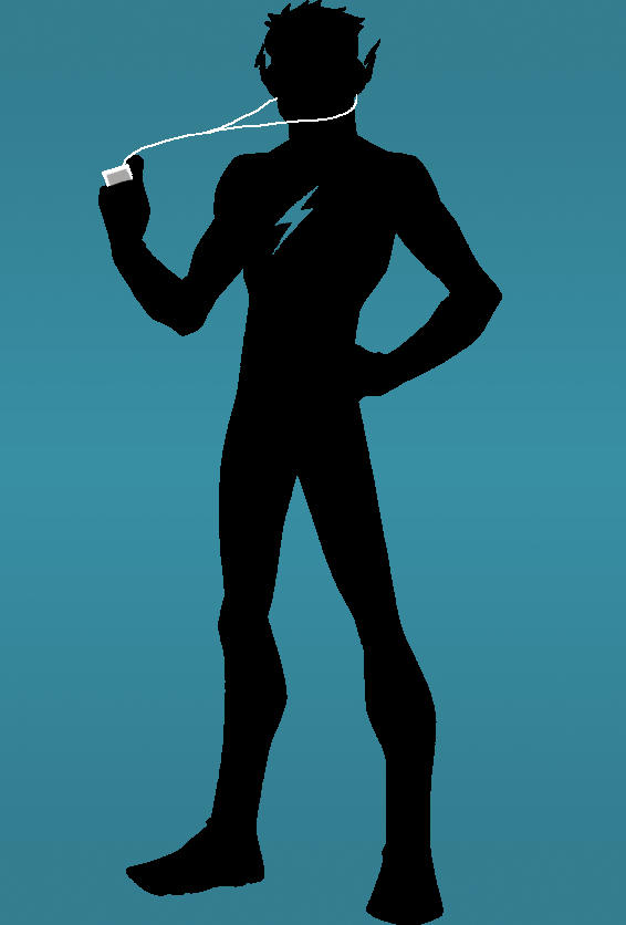 Young Justice IPod Kid Flash By AtomicAzure On DeviantArt