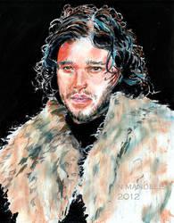 Jon Snow by Smileyrunner