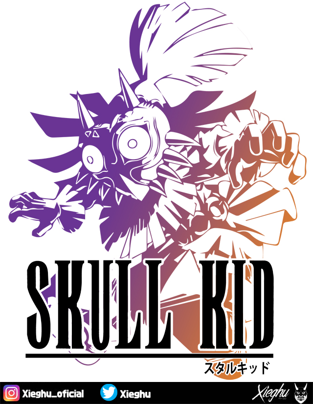 Skull Kid Fantasy by Xieghu