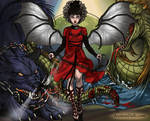 Epic Angel Lydia by RhianDolls