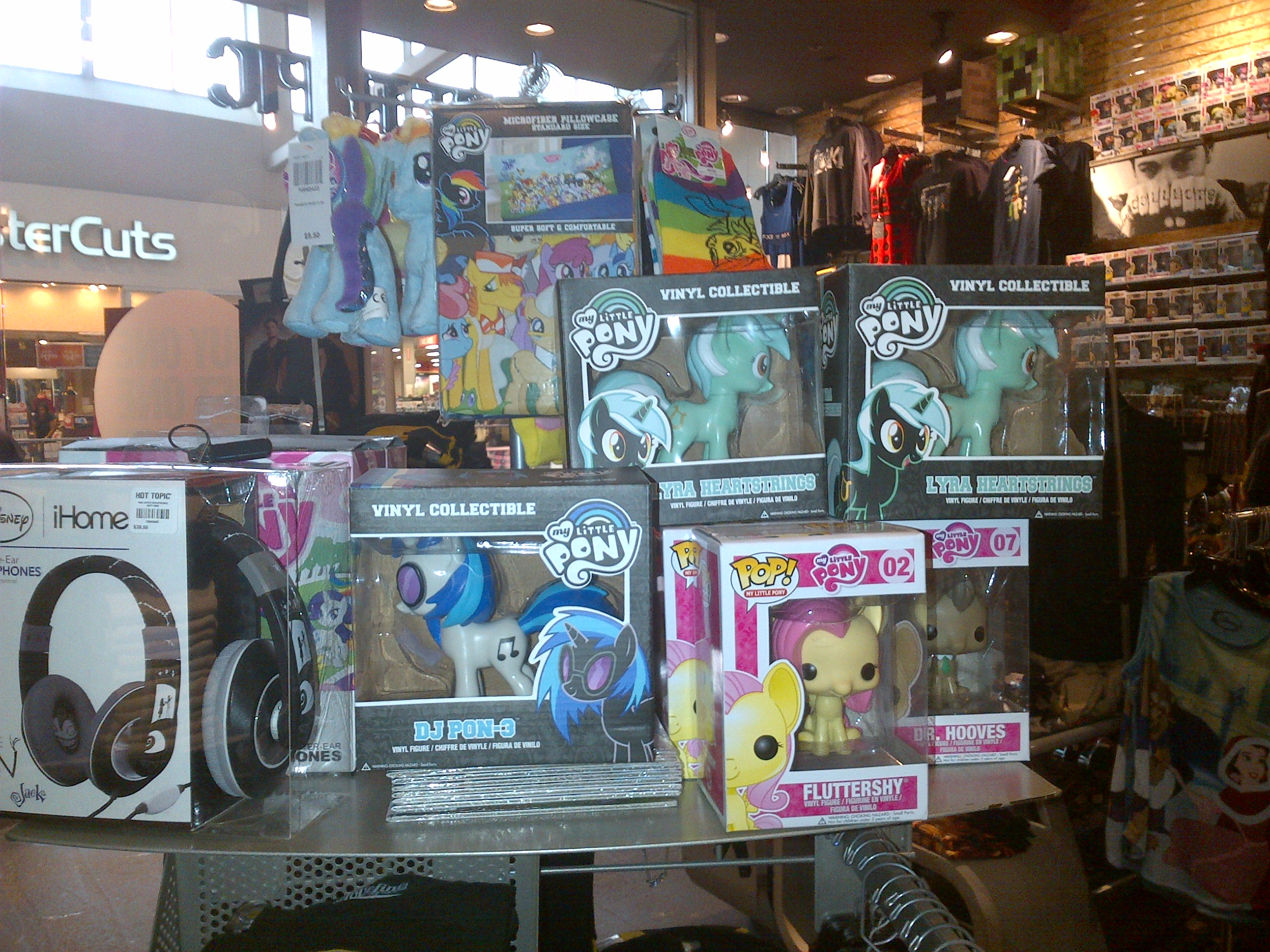 Toys From Hot Topic : Mlp merchandise at hot topic  by galvan on