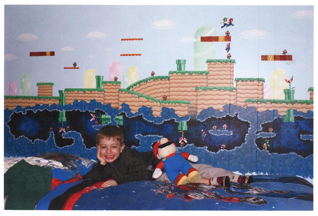 Super Mario Bedroom wall by numbthumbs. Super Mario Bedroom wall by numbthumbs on DeviantArt