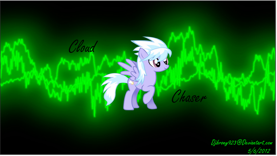 Cloud Chaser wallpaper - art trade w/ Deadmeat1492 by Djbrony923