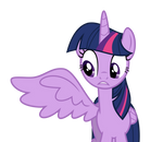 Twilight opens her right wing