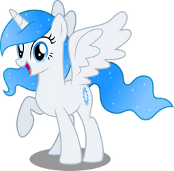 Princess White Flare (Request) by DecPrincess