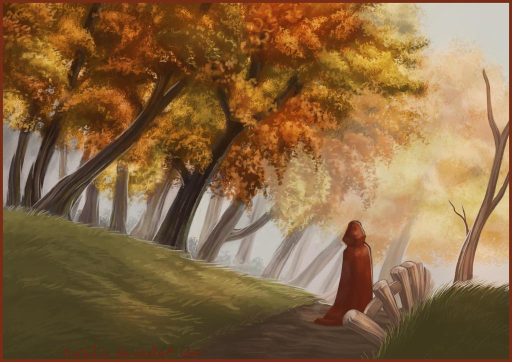 Autumn Trail by Nivailis
