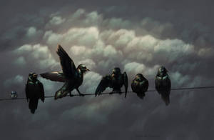 Crows by Lutri