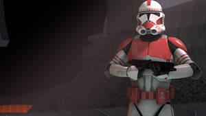 [SFM] Shock Trooper on Mustafar by Sharpe-Fan