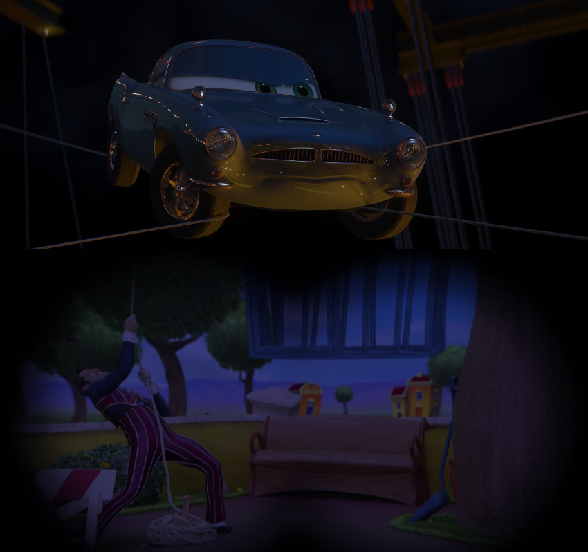 Finn Mcmissile Cars 2: Finn McMissile Spying On Robbie Rotten By Sharpe-Fan On