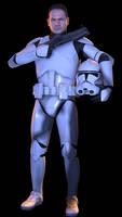 [SFM] Helmetless Clone Trooper