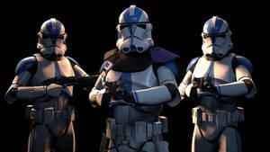 [SFM] Commander Vill and the 501st Legion (alt)