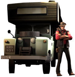 [SFM] Sniper and his Camper by Sharpe-Fan