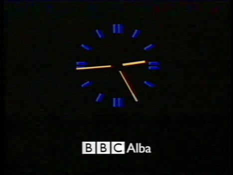 What if - BBC Alba clock (1997-2008)