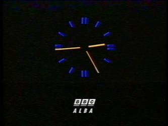 What if - BBC Alba clock (1991-1997)