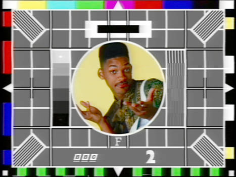 Test Card F (Will Smith variant)