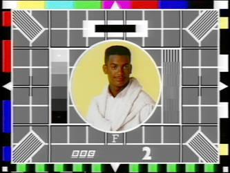 Test Card F (Carlton Banks)