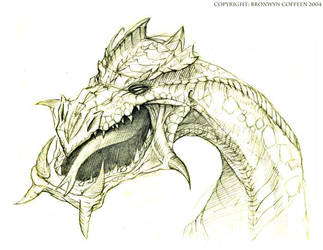'Zuckerian' dragon by zuckerglider