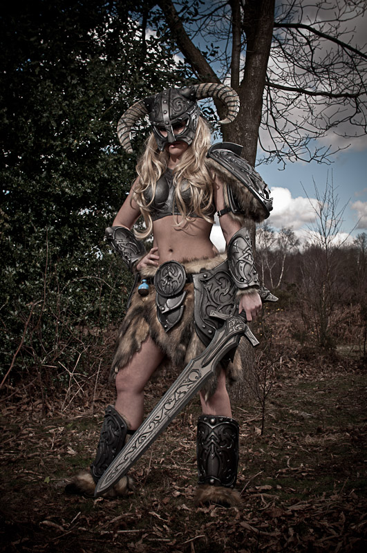 Skyrim Barbie by Artyfakes