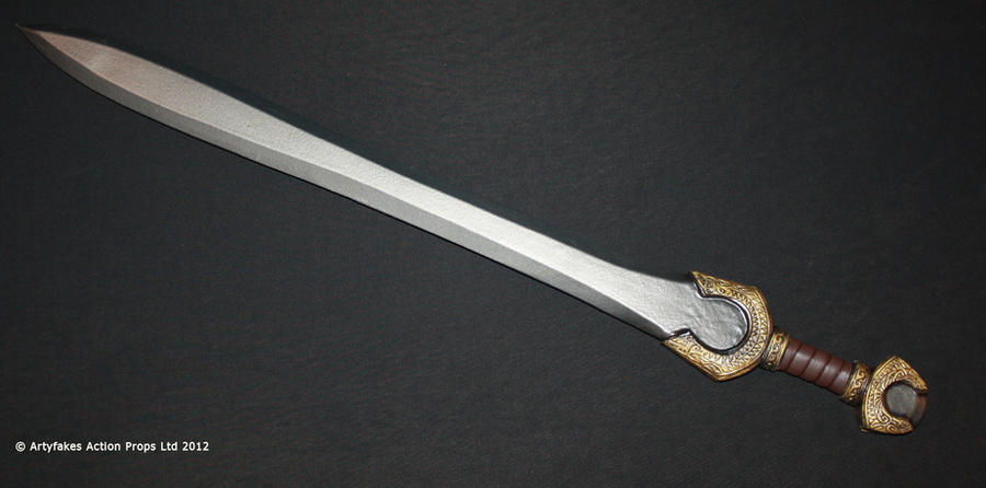 Foam and latex sword by Artyfakes on DeviantArt