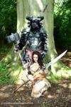 Minotaur and Barbarian