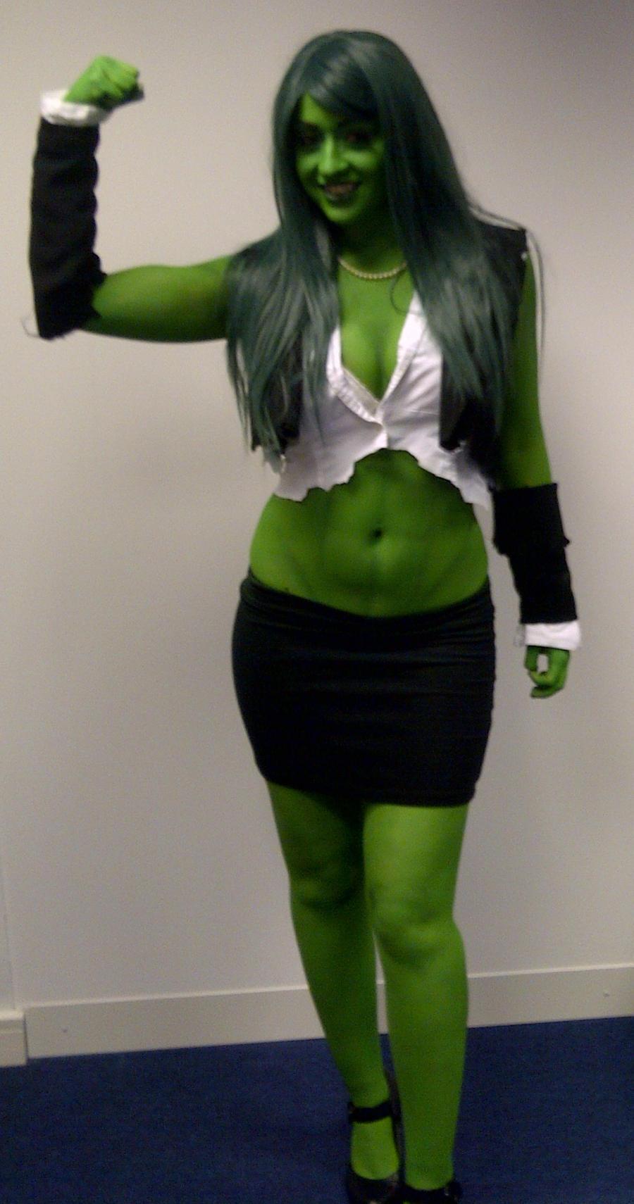 She Hulk by Artyfakes