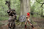 Red Sonja And Troll