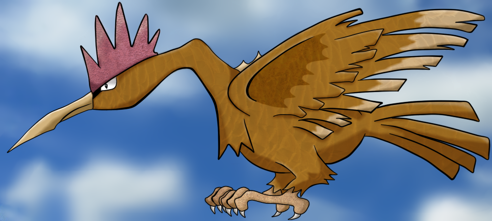 Fearow Custom Art Competition Entry! by manutdred on ...