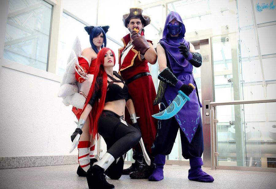 League of Legends Cosplay Group gamescom 2012 by ibukii