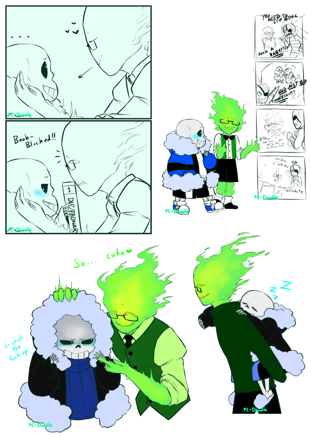 Sansby Sketch Collection By Pc Doodle On Deviantart