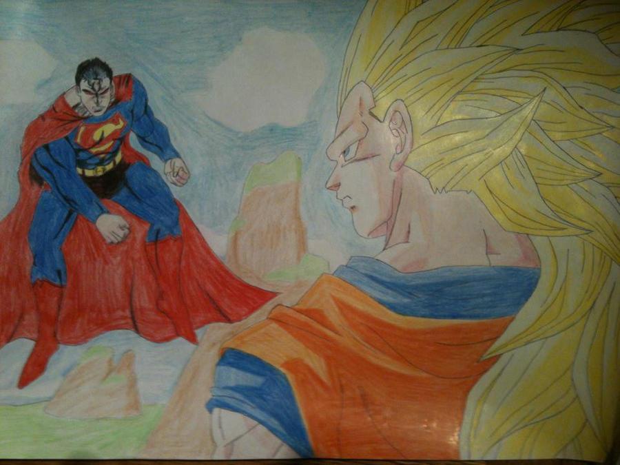 goku ssj3 vs superman - photo #40