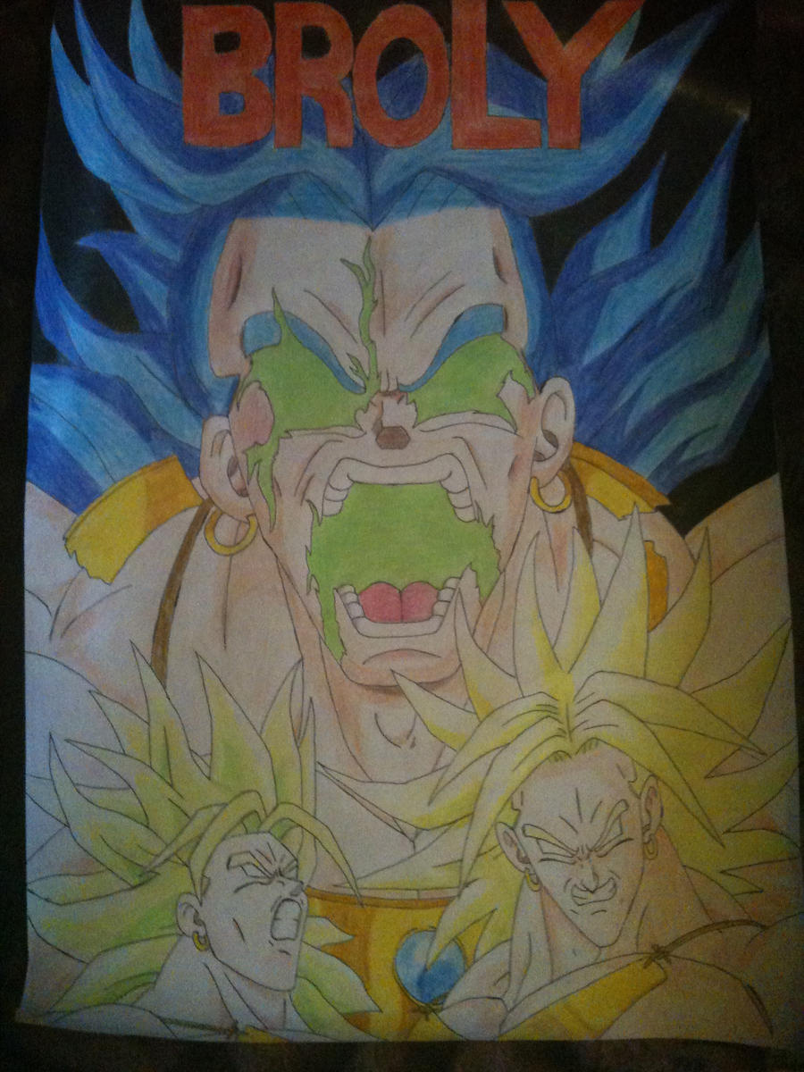 Broly Transformation by CiaranMcCann on DeviantArt