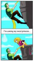 Zoro and the princess
