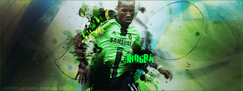 Didier Drogba by LEOXT1O