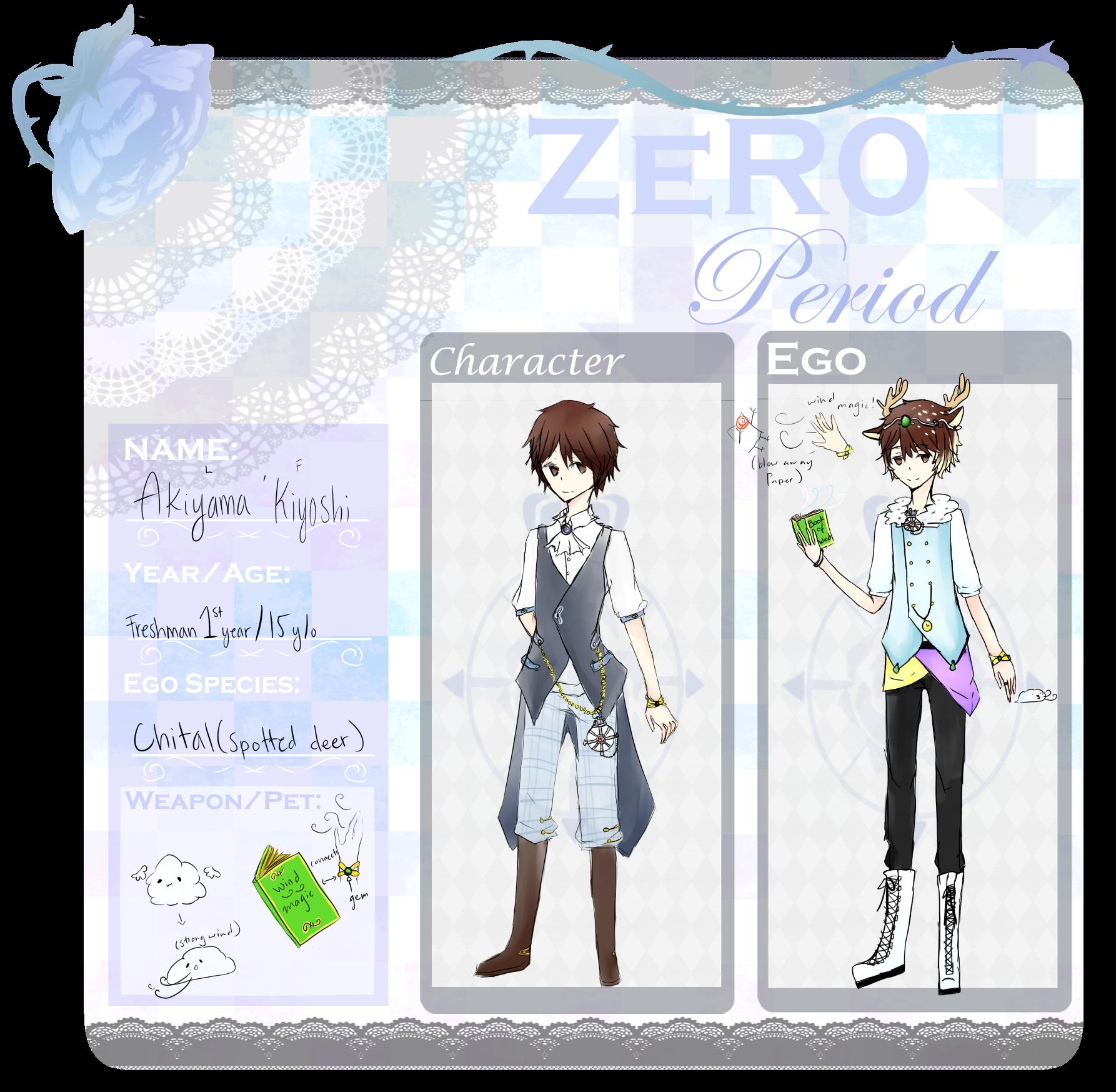 Akiyama Kiyoshi for Zero-period by lilsummer