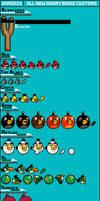 All New Angry Birds Custom Sprites