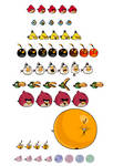 Angry Birds Toons Sprites