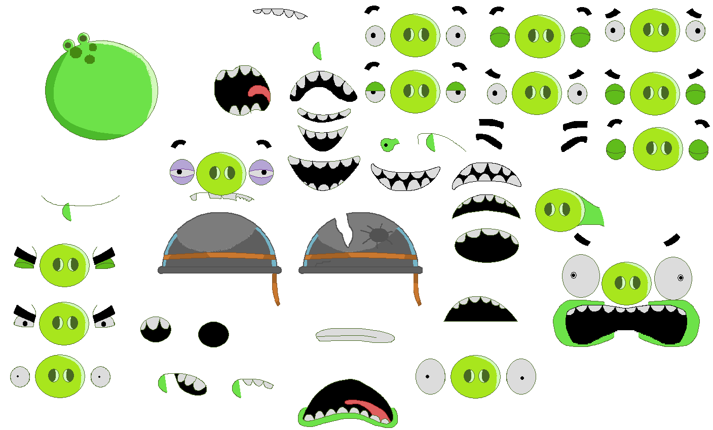Jareds Angry Birds Sheets By Jared33 On DeviantArt Corporal Pig Sheet D7elqzx Jared S 447831355 King And Minion